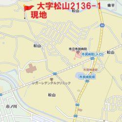東松山市民病院近くです(地図)
