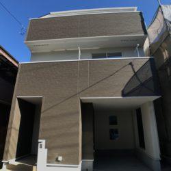 旭住宅の新築3階建