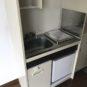 キッチン ミニ冷蔵庫付き